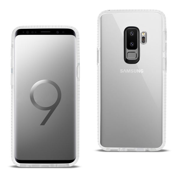 Reiko Samsung Galaxy S9 Plus Soft Transparent Tpu Case in Clear White