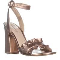 Indigo Rd. Sandie Block Heel Sandals, Gold