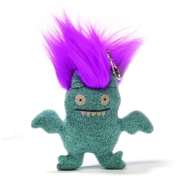 "Ugly Dolls Bad Hair Day 6"" Plush Clip-On: Ice-Bat - multi"