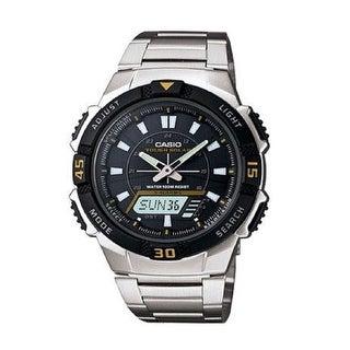 Casio Aqs800wd-1Ev Slim Solar Multi-Function Analog-Digital Watch
