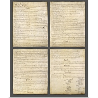 """""""United States Constitution"""" Poster Print"""