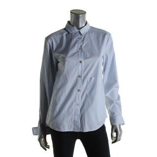 Marc by Marc Jacobs Womens Button-Down Top Striped Long Sleeves - s