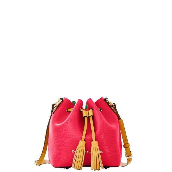Dooney & Bourke Siena Serena Crossbody (Introduced by Dooney & Bourke at $228 in Mar 2014) - fuchsia kelly green