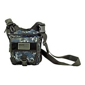 Tactical Sling Range Bag - Blue Digital Camo