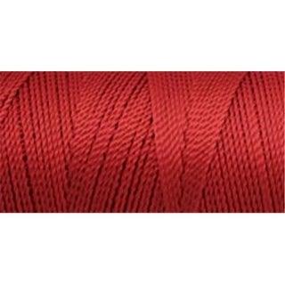 Iris 418030 Nylon Thread Size 2 275 Yards-Red