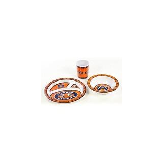 Bsi Products Inc Auburn Tigers Kids 3 Pc. Dish Set Dish Set