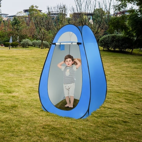 Portable Pop Up Shower Tent Changing Room Dressing Camping Shelter