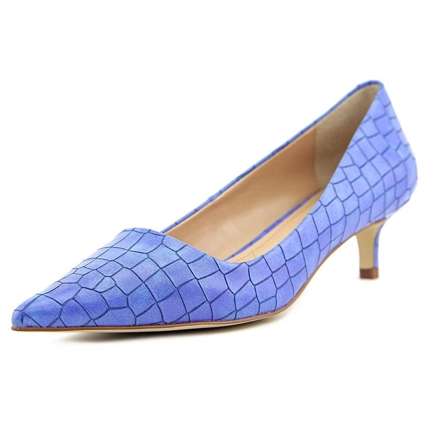 Charles By Charles David Drew Women  Pointed Toe Leather Blue Heels