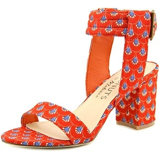 Matisse Lupe Women Open Toe Canvas Orange Sandals