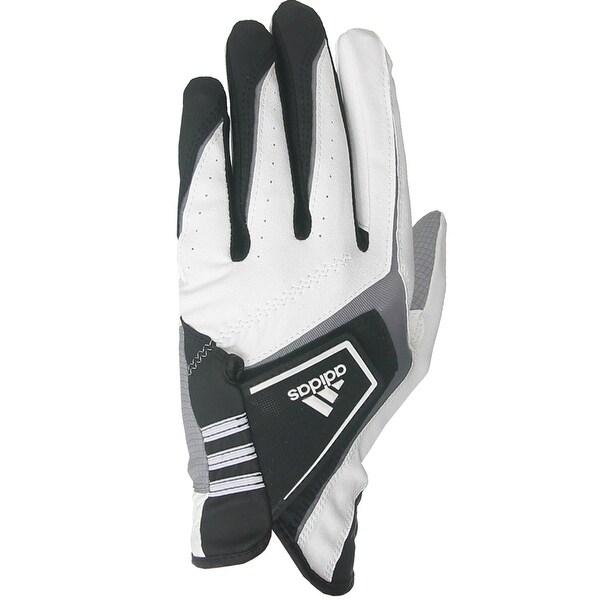 Adidas Exert Men's Golf Gloves (2-Pack) - white/black/gray
