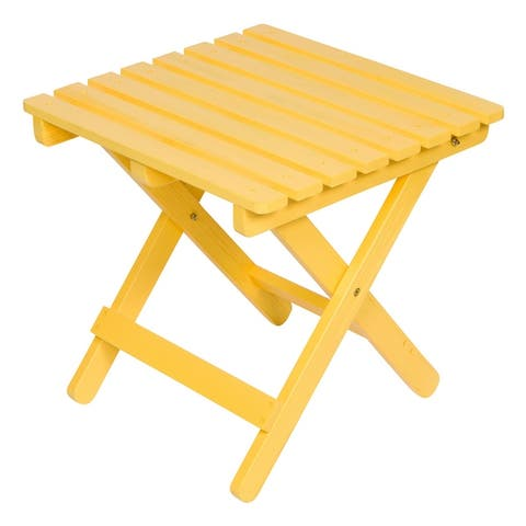 26 inch Square Adirondack Folding Table with HYDRO-TEX finish