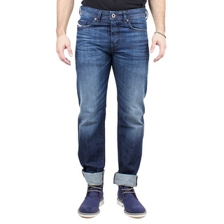 Diesel Buster Men's Regular Slim-Tapered Denim Jeans 0838B