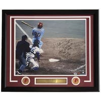 Mike Schmidt Signed Framed 16x20 Phillies 500 Home Run Photo Insc LE 20 Fanatics
