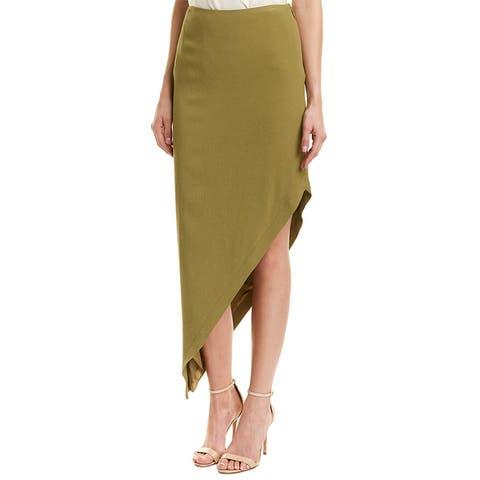 Nicole Miller Artelier Asymmetric Skirt