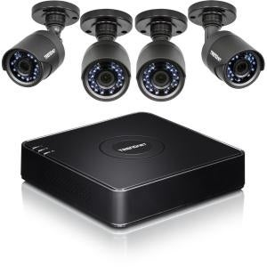 Trendnet Inc - 4 Camera 1080P Dvr Surveillance Kit With 1 Tb Hdd