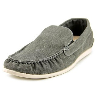 Steve Madden Hoist Moc Toe Canvas Loafer