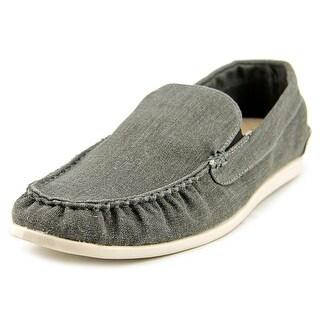 Steve Madden Hoist Moc Toe Canvas Loafer