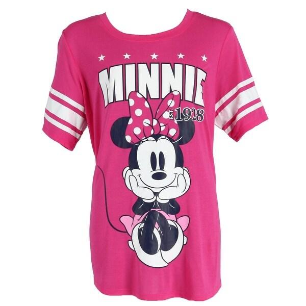 Shop Disney Minnie Mouse Plus Size Short Sleeve Jersey Shirt ...
