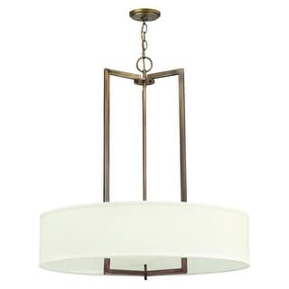Hinkley Lighting 3206-GU24 3 Light Title 24 Fluorescent Large Foyer Pendant from the Hampton Collection