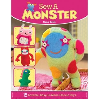 Lifestyle Books-Sew A Monster