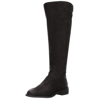 Franco Sarto Womens F3961L1 Leather Closed Toe Knee High Fashion Boots