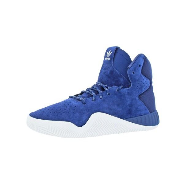 c7b84fbcb59e adidas Originals Boys Tubular Instinct J Running Shoes Big Kid High Top -  5.5 medium (