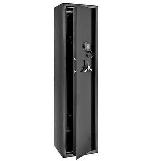 Link to 5 Rifles Electronic Depository Security Cabinet Gun Cabinet Digital Security Safe Box Similar Items in Gun Storage & Safety