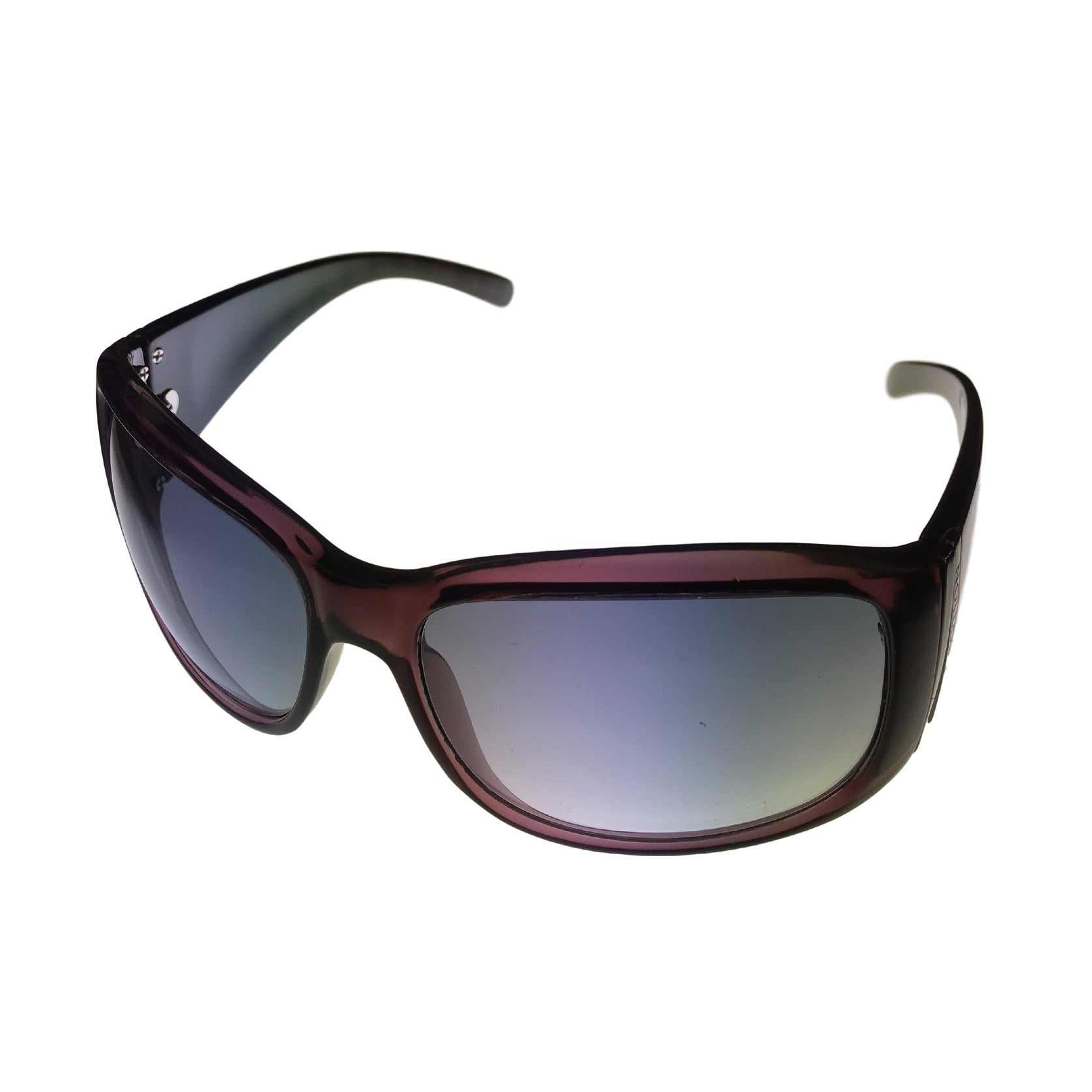 Kenneth Cole Reaction Women Sunglass Purple Reactangle, Gradient Lens KC1156 83B - Medium - Thumbnail 0