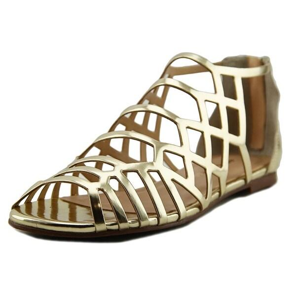 J/Slides Alex Women Open Toe Synthetic Gladiator Sandal