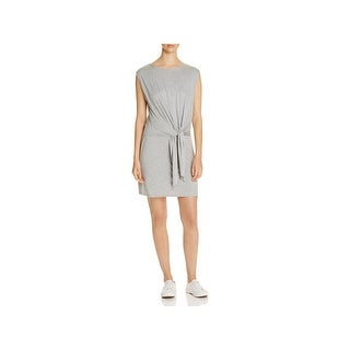 Three Dots Womens Casual Dress Heathered Knot-Front (4 options available)