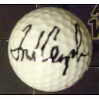 Fred Couples Autographed Golf Ball with Free Display Cube