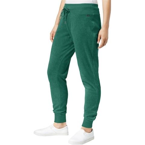 Calvin Klein Womens Drawstring Casual Jogger Pants