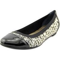 Alfani Jemah Women Black/Gold Flats