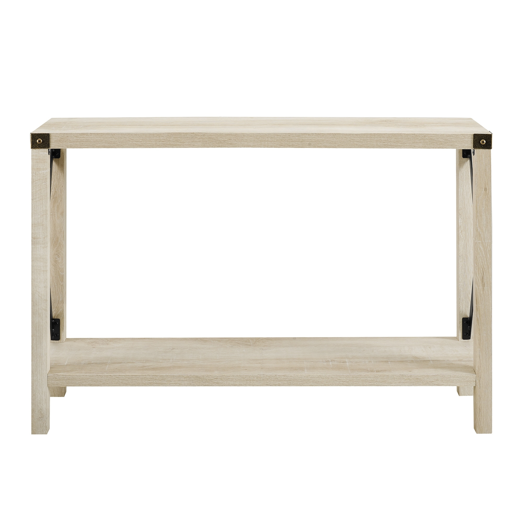 White Combo 46 Inch Console Table