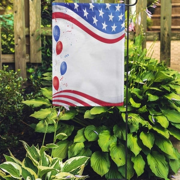 American Red White And Blue Flag Wave Party Balloons Border Garden Flag Decorative Flag House Banner 12x18 Inch On Sale Overstock 31364757