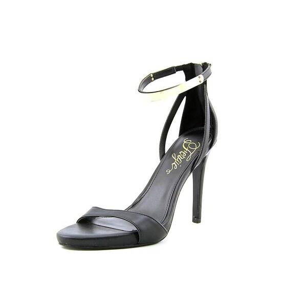 Fergie Reign Women Open Toe Synthetic Black Sandals