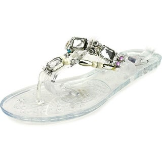 Penny Loves Kenny Umay Open Toe Synthetic Thong Sandal