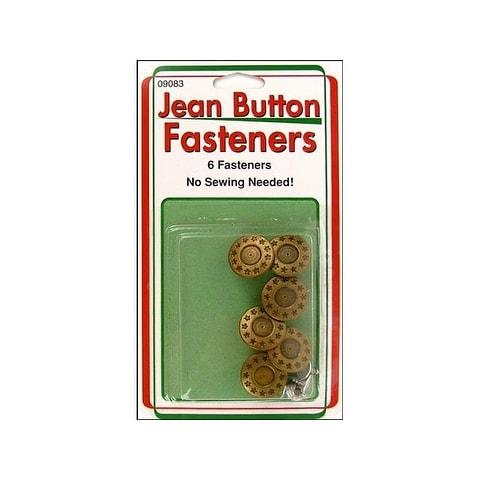 Sullivans Jean Button 6pc Gold Star Ring