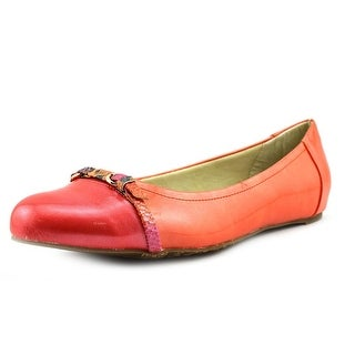 Soft Style by Hush Puppies Delsie Round Toe Synthetic Flats