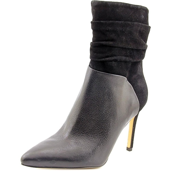 Guess Vvidlet Pointed Toe Leather Ankle Boot