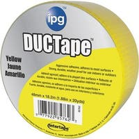 Intertape Polymer Group 20Yds Yellow Duct Tape 6720YEL Unit: EACH