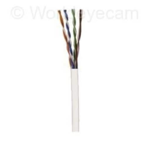 CAT5e 24G Cable 1000' Box White