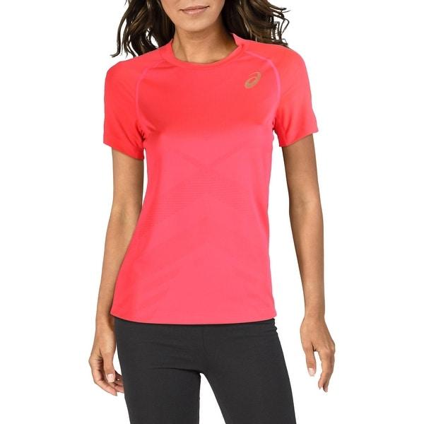 Asics Womens T-Shirt Tennis Moisture Wicking - Overstock - 32306138