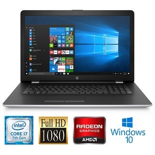 "HP 17-BS025 Intel Core i7-7500 16GB 17.3"" Full HD Radeon 4GB Graphics Laptop"