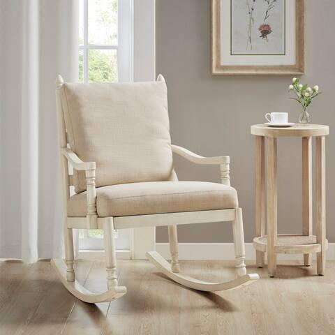 Braxton Cream Rocking Chair Martha Stewart