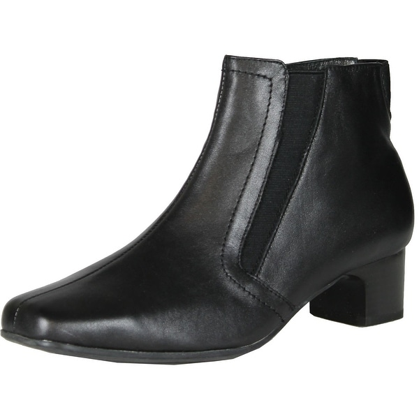 Spring Step Womens Appeal Booties - black. - 41 m eu / 9.5-10 b(m) us