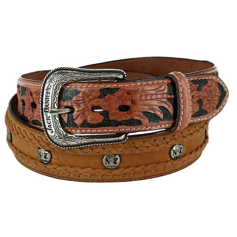 Jack Daniel's Men's Western No. 7 Belt