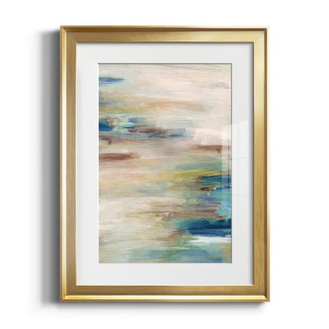 Meandering Coast Premium Framed Print - Ready to Hang