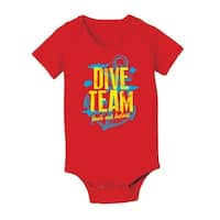 Dive Team Cool Funny Infant One Piece