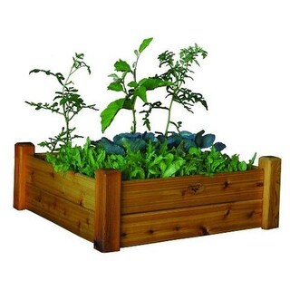 Gronomics RGBT 34-34S Safe Finish Raised Garden Bed 34 x 34 x 19 in.